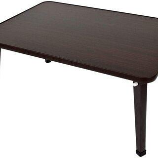 【未使用】ミツワ パレットテーブル 幅60×奥行45×高さ…