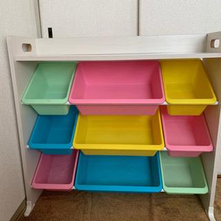 トイハウス おもちゃラック 棚 お片付け 子供部屋 整理整頓