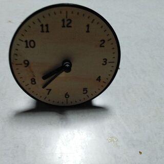ダイソー 小型置時計(中古)