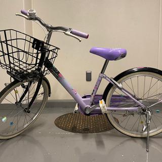 自転車 低学年 インチ パープル