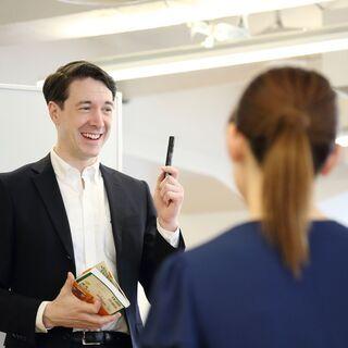 初心者も上達!英会話教室 ネイティブの先生に学ぶ。中区最安値♪