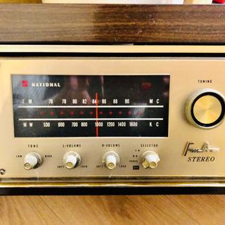希少 ナショナル レコードラジオプレイヤーSE-1350G