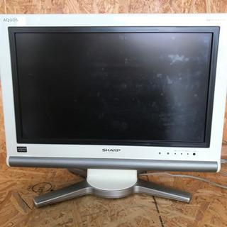 SHARP TV AQUOS 2007年製 動作確認済み リモコ...