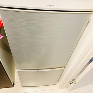 【冷蔵庫】SHARP 6年使用【異臭目立つキズなし】