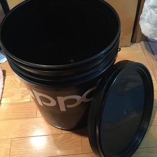Zippo蓋付き 大きめバケツ