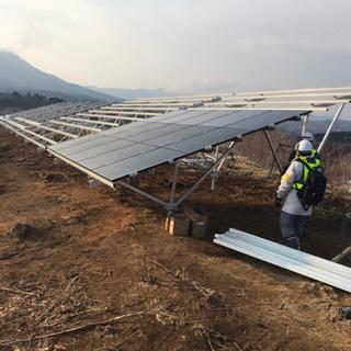 岩手県洋野町 太陽光発電所建設工事