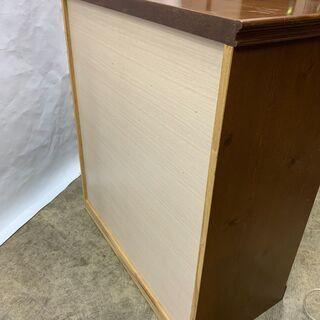 美品 高級 木製 チェスト 5段 洋箪笥 幅890×奥行460×高さ1000㎜ 収納家具 開閉スムーズ 中古 E - 売ります・あげます