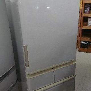 【クリーニング&動作確認済】シャープ 424L 5ドア冷凍冷蔵庫...