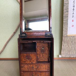 【ネット決済・配送可】昭和レトロ 鏡台