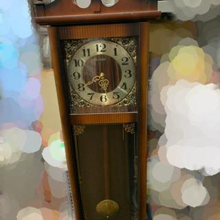 CITIZEN 振り子時計 柱時計 アンティーク 🌈 しげ…