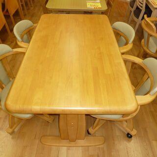 k180☆ダイニングテーブルセット☆ダイニングテーブル5点…
