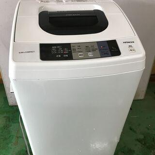 日立 HITACHI 全自動洗濯機 5.0kg 2017年製 干...