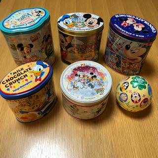 ● 『 ディズニー空缶』6点セット●