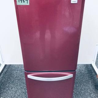 1489番 Haier✨冷凍冷蔵庫✨JR-NF140H‼️