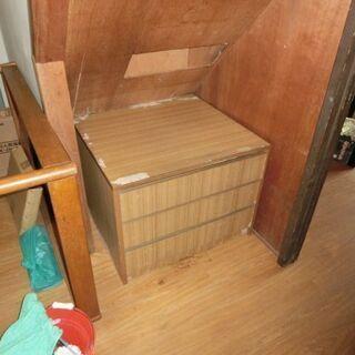 ■(あげます)3段の引き出し式 収納家具(USED)