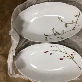 未使用 洋皿2枚組