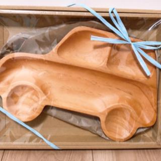 車の木製プレート