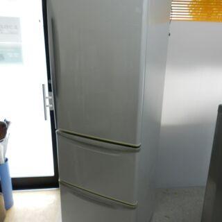 ☆都内近郊送料無料☆3ドア ノンフロン冷凍冷蔵庫 365L クリ...