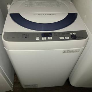 No.730 SHARP 5.5kg 洗濯機 2016年製…