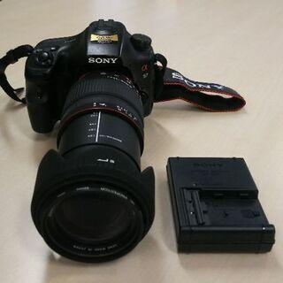 SONY ソニー α57 一眼レフカメラ SIGMA DG 28...