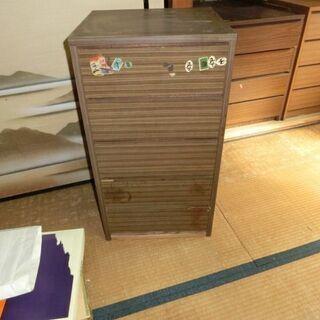 ■(あげます)5段の引き出し式 収納家具(USED)