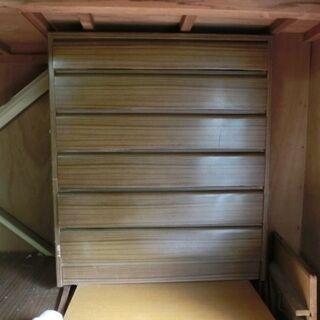 ■(あげます)4段の引き出し式 収納家具(USED)
