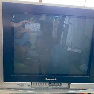 昔のタイプのテレビ