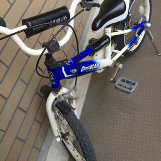 子供用自転車 補助輪つき 16インチ?