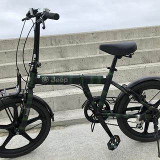 Jeep 折りたたみ自転車 カーボン お値下しました!