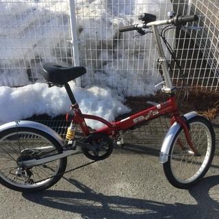 シマノ折り畳み自転車❣️中古品‼️整備済直ぐ乗れます❣️