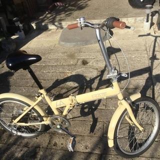 折り畳み自転車‼️中古品❣️整備済直ぐ乗れます❗️
