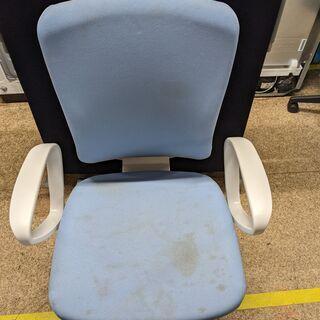 オフィスチェアー 水色 メッシュチェア 椅子 LION Vers...