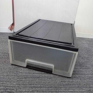 JM10346)1段収納クリアケース/衣類収納 1個 幅:約41...