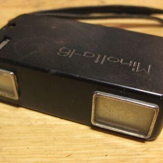 超小型カメラ ミノルタ Minolta-16