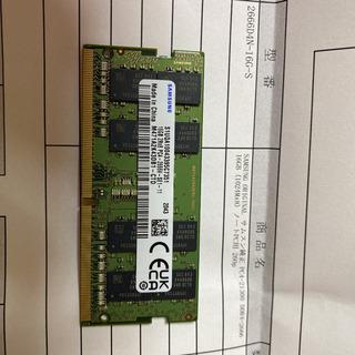 新品 サムスンPC4-21300  DDR4-2666 16Gノ...