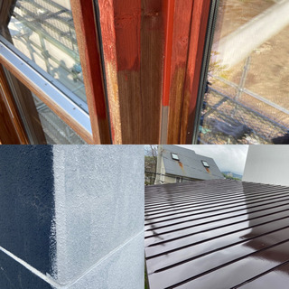 外壁、屋根の塗装工事