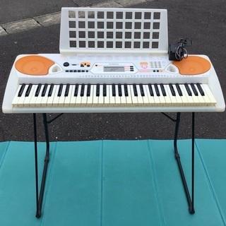 <動作>ヤマハ・光鍵盤ガイド・電子ピアノ・EZ-J22・6…