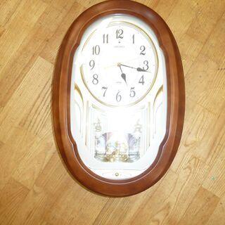 k184☆掛け時計☆セイコー☆ウェーブシンフォニー☆AM2…