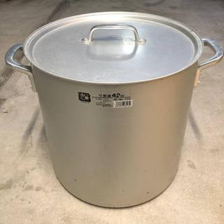アルミ寸胴鍋 42cm ND-704