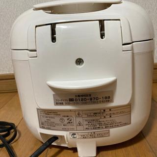 マイコン式炊飯ジャー5.5合炊き - 家電