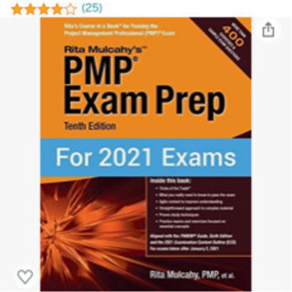 Rita Mulcahy PMP Exam Prep 2021➕...