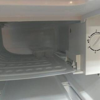 J082★6か月保証★サイコロ1ドア冷蔵庫★Abitelax  AR-45KS  2018年製        - 家電