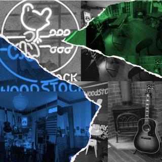 Live music hut WOOD STOCK ギター・ピア...