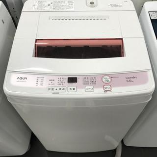 ☆洗濯機AQUA・AQW-KS60C・2015年製☆