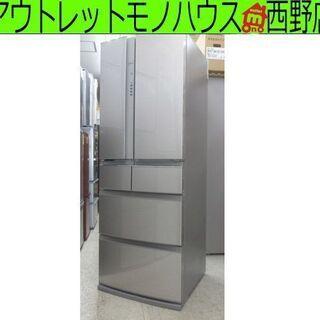 ▶冷蔵庫 461L 6ドア 大型 三菱 MR-RX46C-F フ...