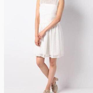 元値2万円 タグ付き新品 and couture 白メッシ…
