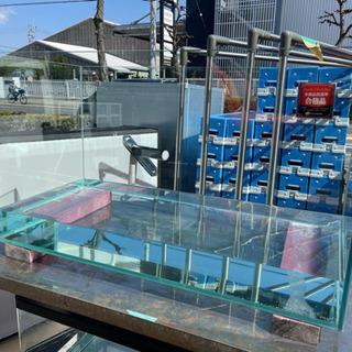 GEX ジェックス ガラス水槽 900×400×505 中古
