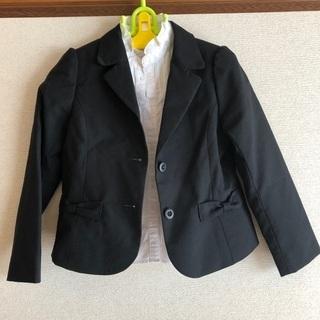 入学式 女の子 コムサ ブラウス&ジャケット 120