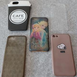 iPhone8 ケース 5点セット まとめ売り アナ雪 ス…