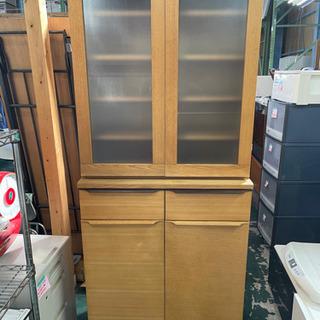 木製 食器棚 790×1780×470 中古